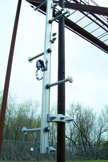 Css Ladder Fall Protection Arrest Systems En 353 1 Railok 90