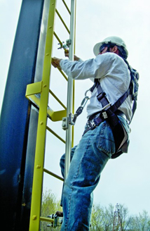Css Ladder Fall Protection Arrest Systems En 353 1 Railok 90